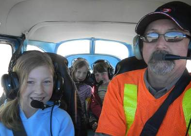 Kids Flying with Randy